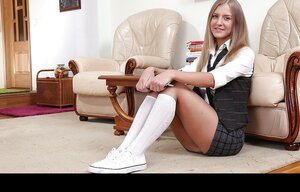 Legal teen chick starts licking stepmother's vag no 1 and furthermore then they change degrees